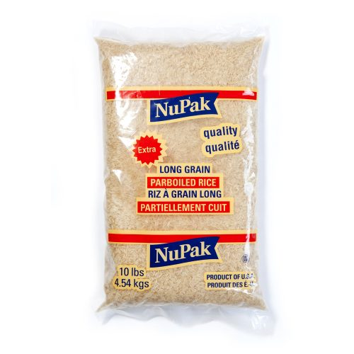 NuPak Long Grain Parboiled Rice